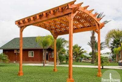 Small Arched Pergola Kits
