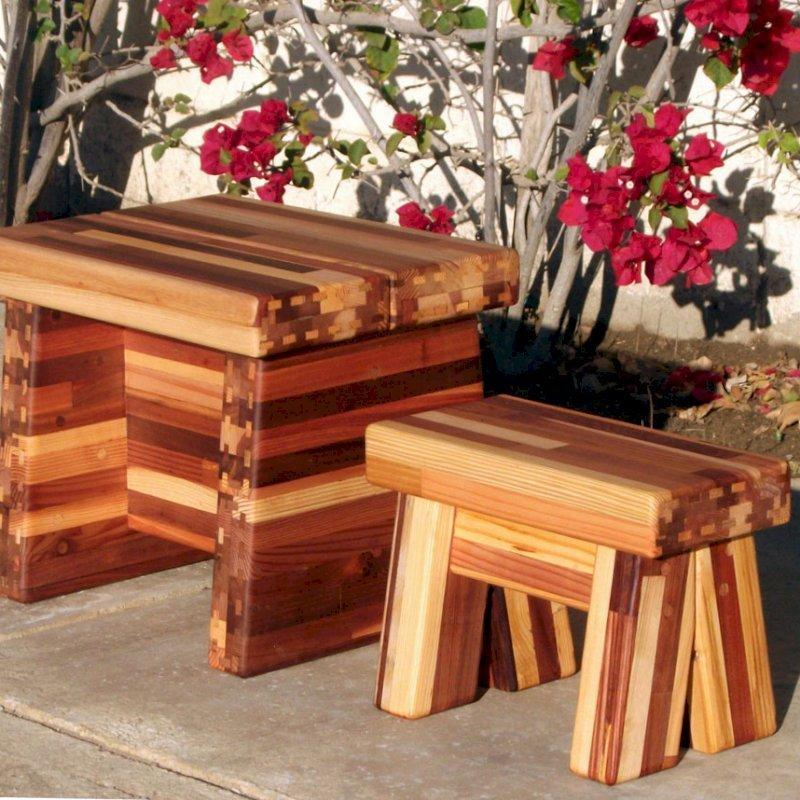 Outstanding Small Wooden Foot Stool Natural Wooden Stool Beatyapartments Chair Design Images Beatyapartmentscom