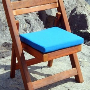 Folding Chair (Cushion Adv. Options selection only) - Mature Redwood