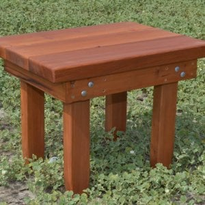 Rectangular Side Table (Options: 24