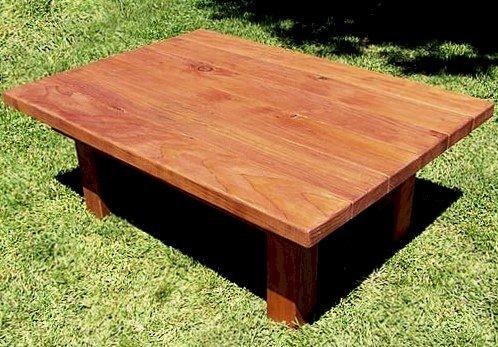 Rectangular Side Table (Options: 48