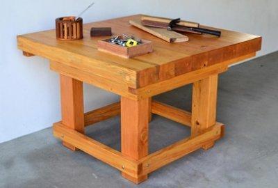 Super Heavy Duty Workshop Table