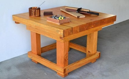 Super Heavy Duty Workshop Table