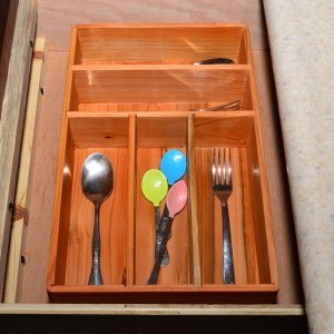 Tableware Organizer (Options: Douglas-fir, Transparent Premium Sealant).