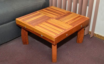 Terrace Wood Outdoor Coffee Table