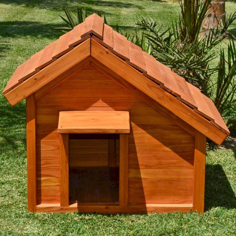 Canine Cottage (Douglas-fir, Transparent Premium Sealant).