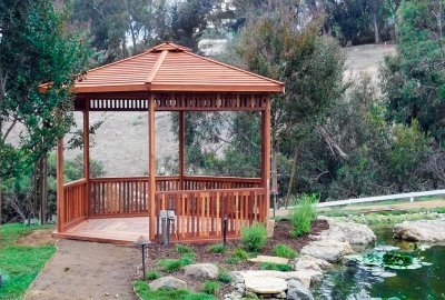 The Hexagonal Retreat Pavilion