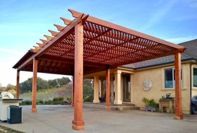 The Lattice Pergola Kit