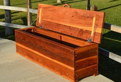 The Laurel Storage Benches
