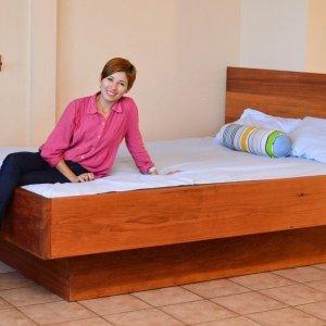 The Mathieu Heritage Bed (Options: Queen, Transparent Premium Sealant).