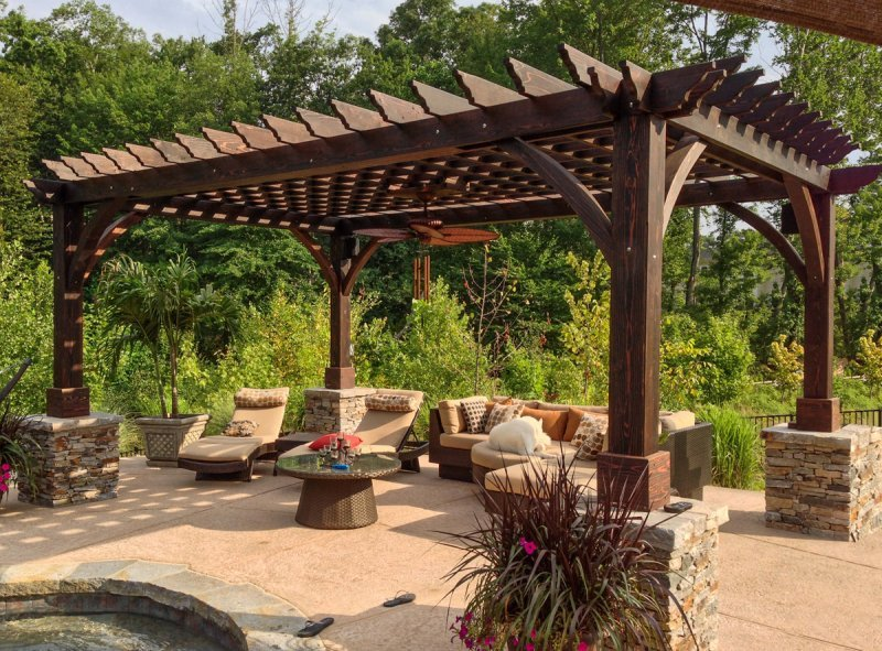The Montvale Pergolas