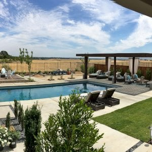 The Silverado Modern Pergola (options: 30'-8