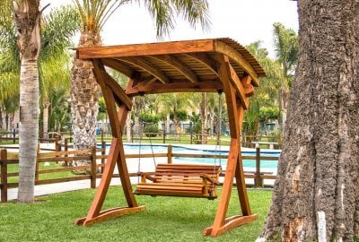 The Summerbreeze Swing Sets