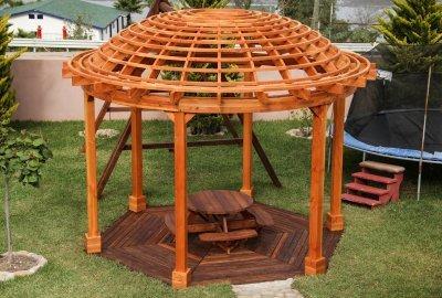 The Wooden Dome Pergola