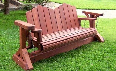 Two Seat Adirondack Swing