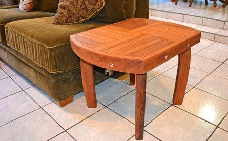 Vera's Custom Wood Side Table