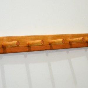 Wooden Coat Racks (Options: 2 1/2 feet, Redwood, Transparent Premium Sealant).