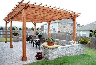 Wooden Garden Pergolas