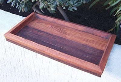 Wooden Water Trays