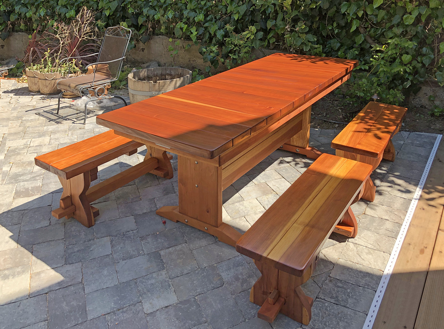 ... Baja Table (Options: 6 Ft L, 30 Inches W, Side Benches, ...