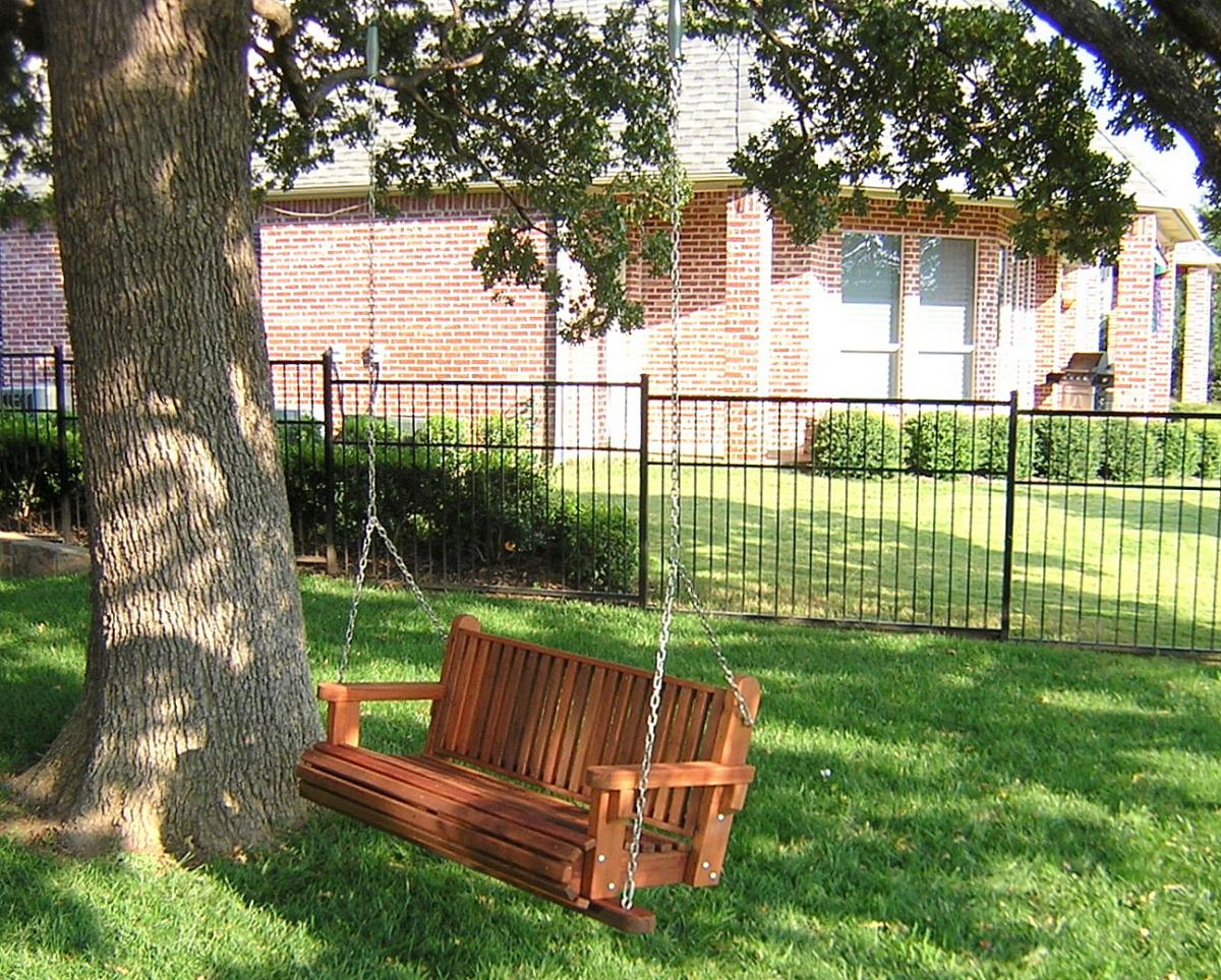 Bench Swings Seats Only Built To Last Decades Forever