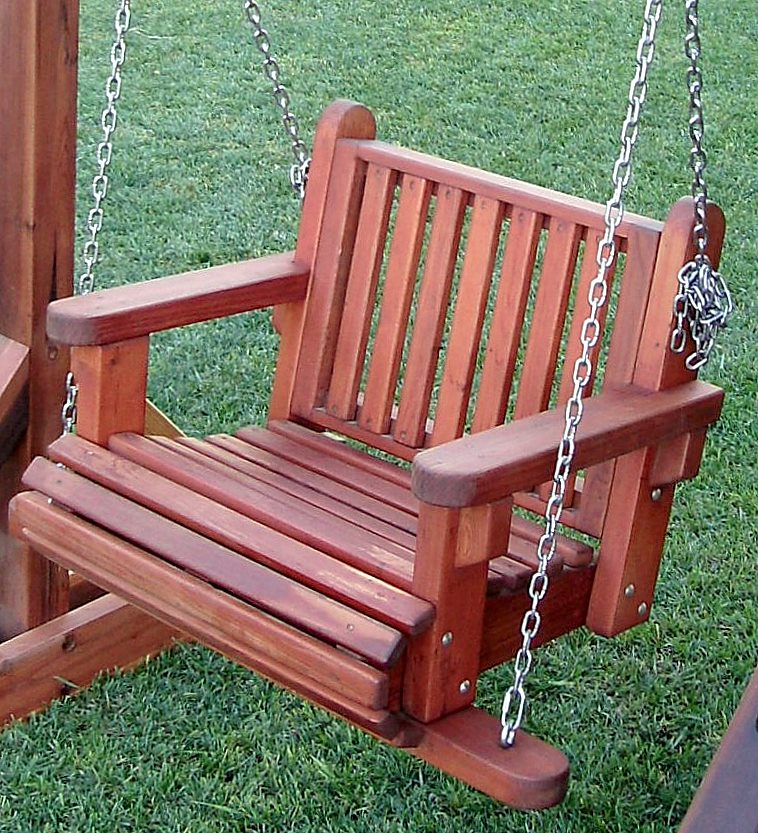 The Chair Swing Sets Built To Last Decades Forever Redwood