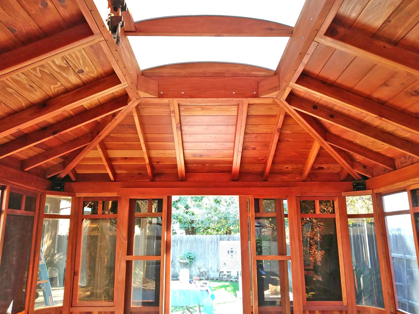 DIY Wood Gazebo: Custom Made Redwood Gazebo Kit