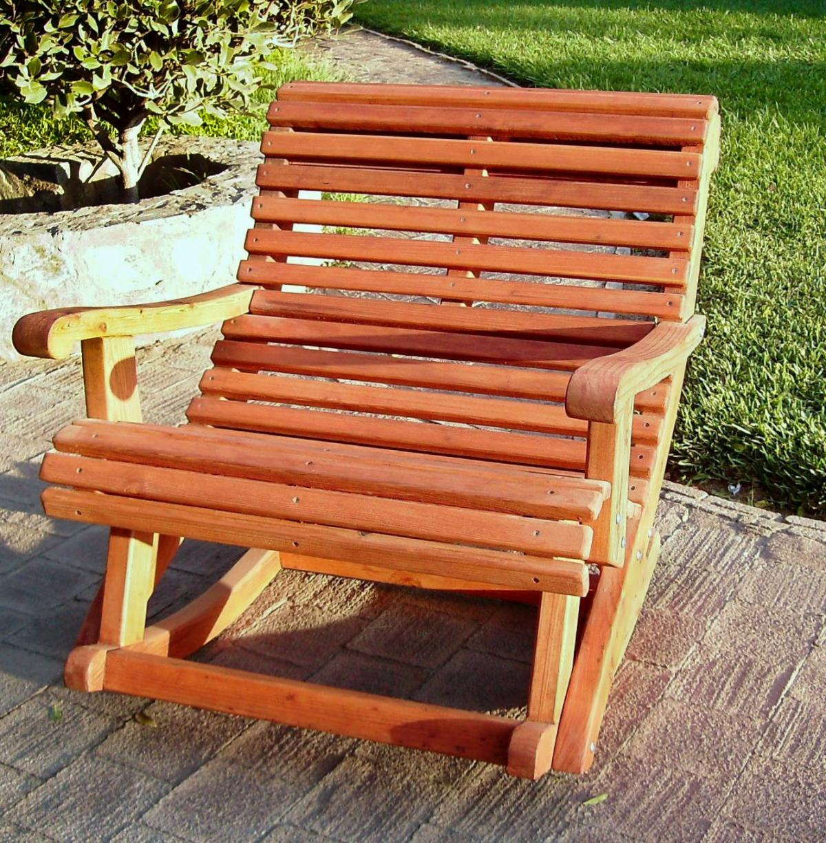 Ensenada Wooden Rocking Chair