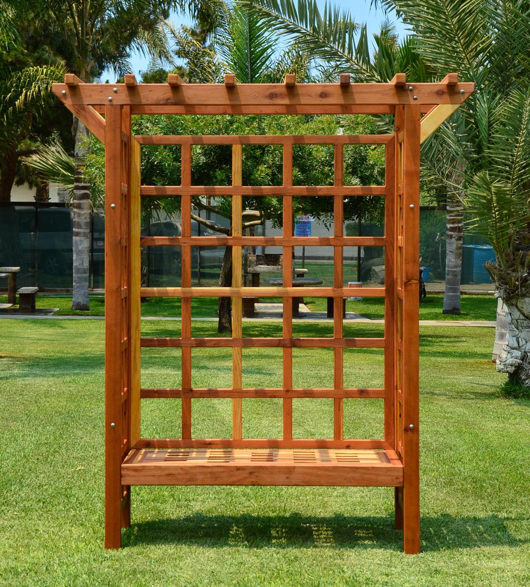 Attirant Garden Arbor Bench