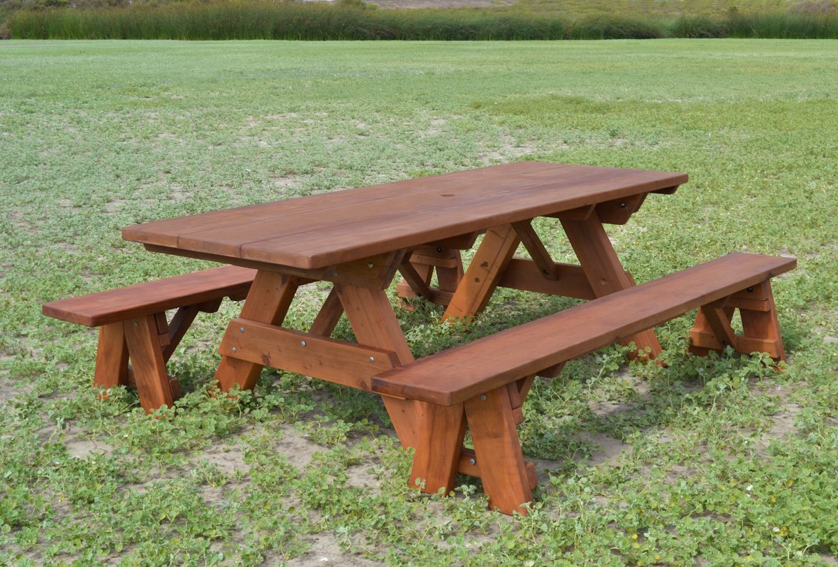 Heritage Picnic Table Options 8 L 34 1 2 W