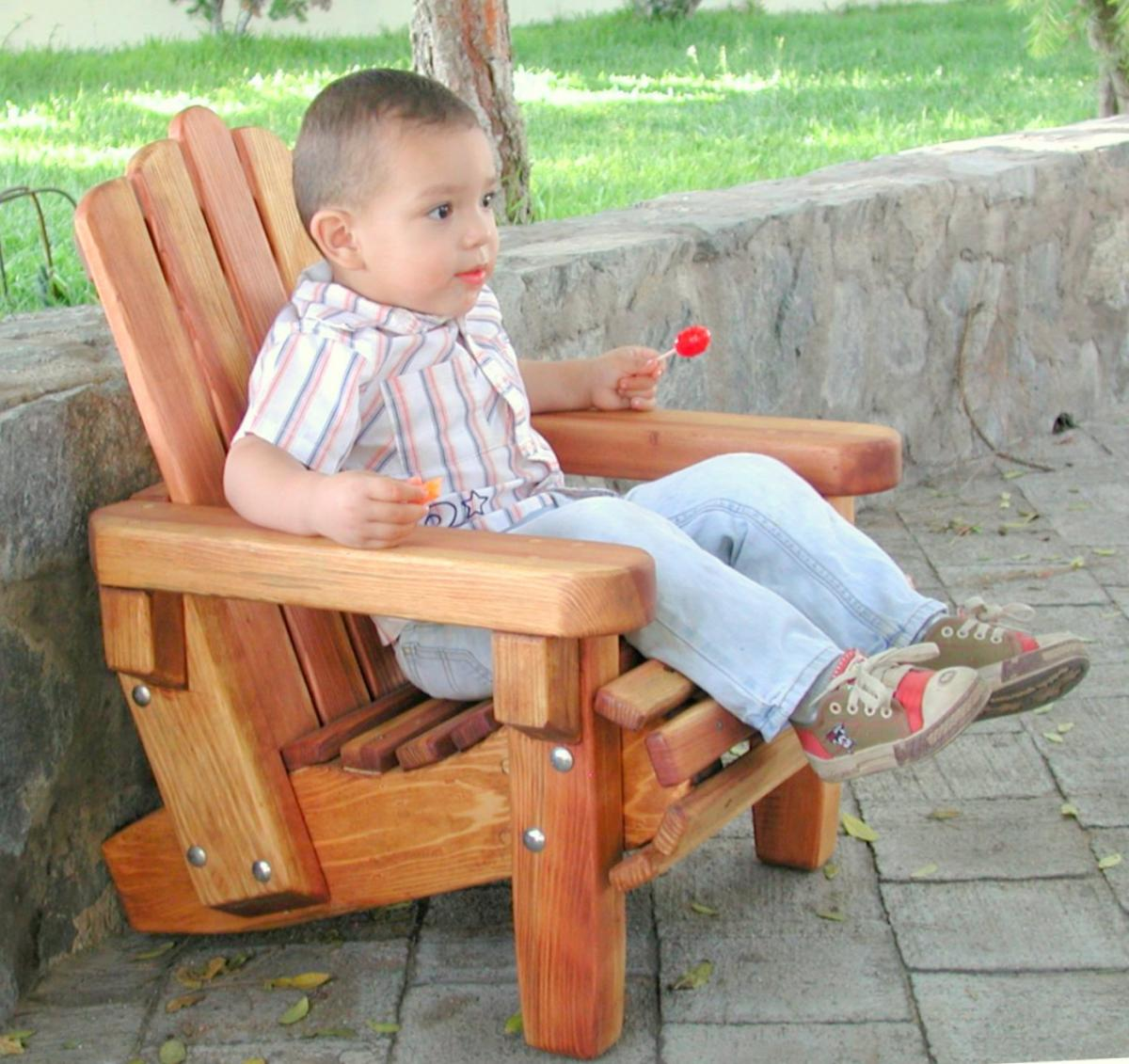 Kids Wooden Adirondack Chair Outdoor Wooden Chairs