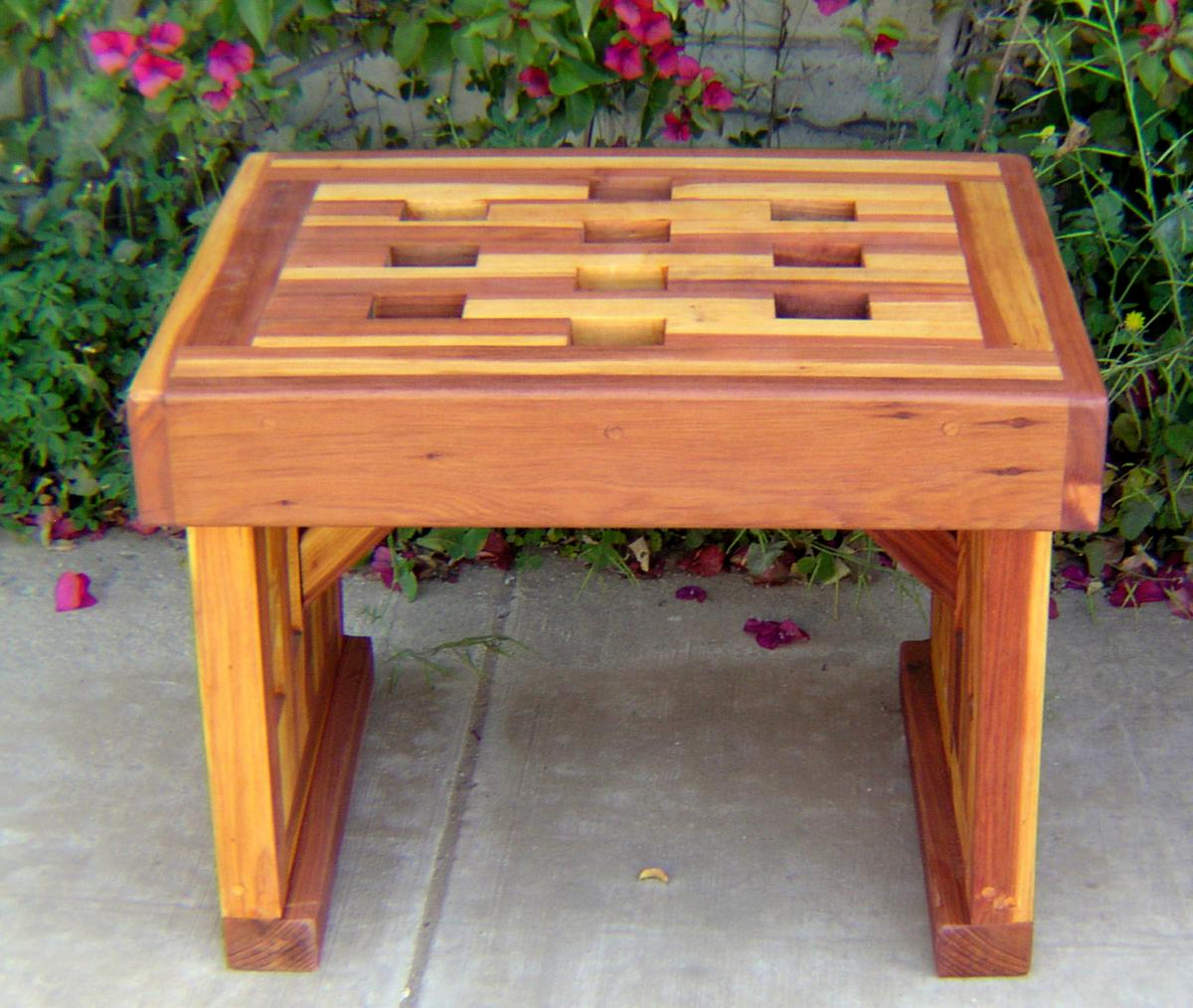 ... Lighthouse Garden Bench (Options: 2 Ft L X 17 3/4 Inches W ...