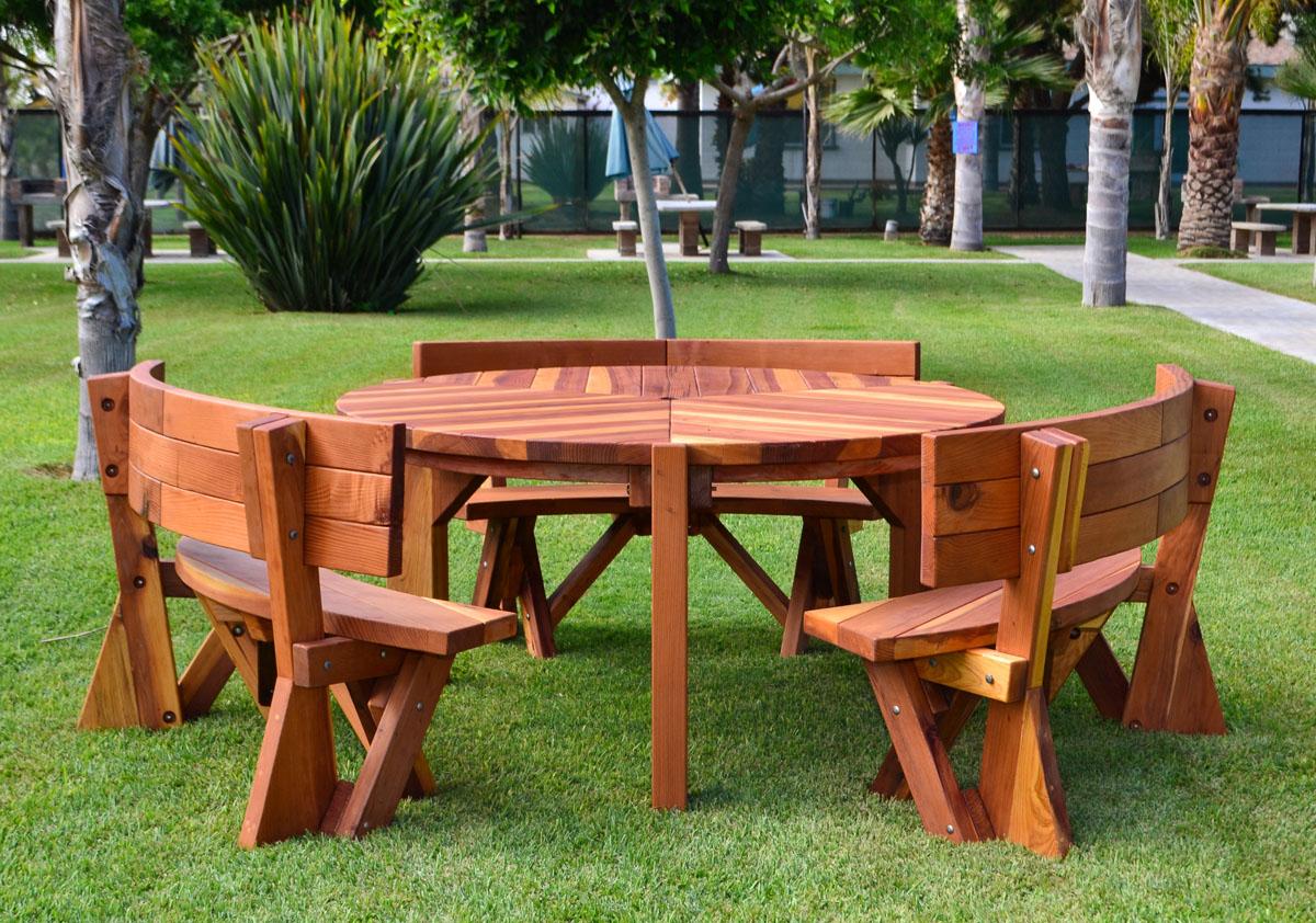 Lisa S Retro Outdoor Patio Table