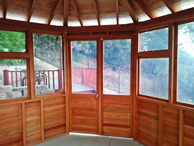 Octagonal Gazebo Sunroom Wood Gazebo Kit For Sale