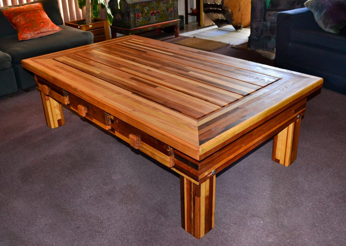 Oversized coffee table