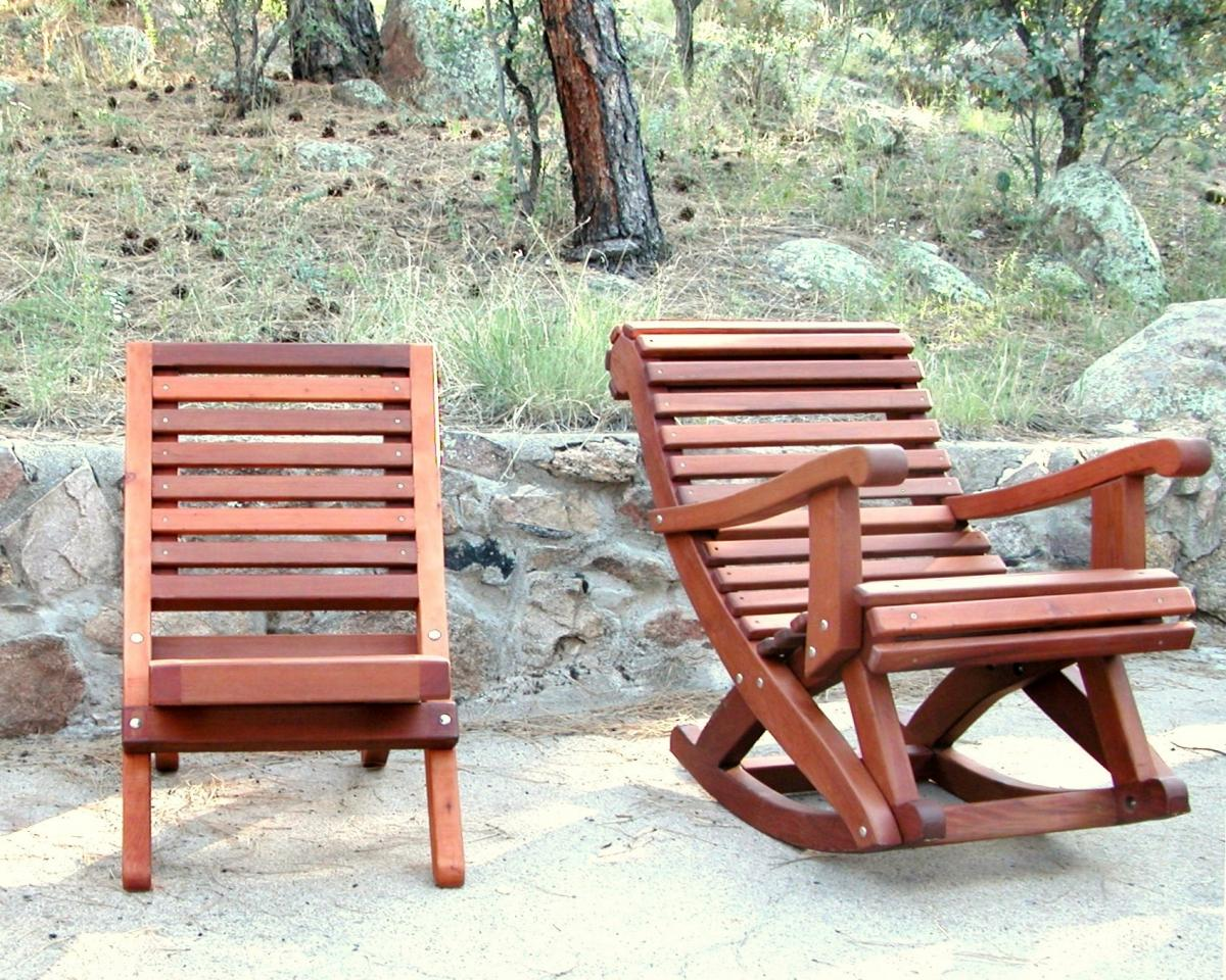Comparison The Portable Beach Chair And Ensenada Rocker Both In Old Growth With