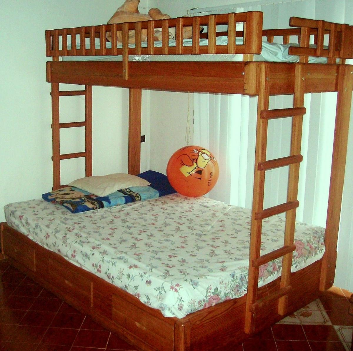 Wooden Bunk Beds Forever Redwood