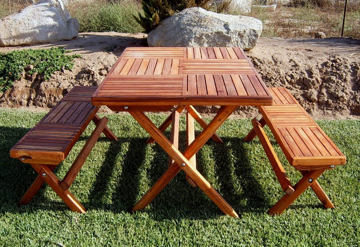 Rectangular Folding Picnic Table