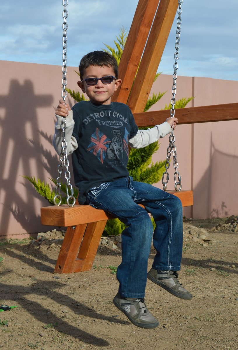 Rory S Giant Playground Swing Set Forever Redwood