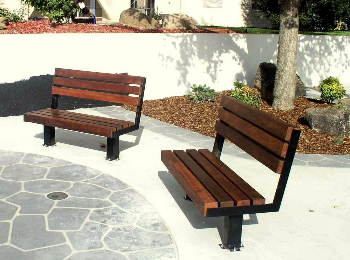 Veterans Wood Bench