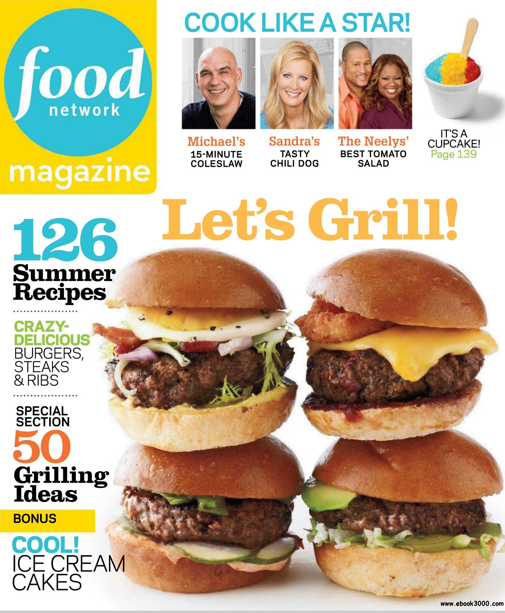 Food Network Magazine, June, 2012: Cover