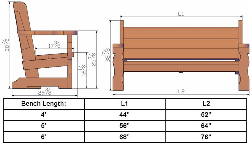 english garden bench woodworking plans