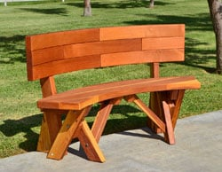 Fullback Arc Picnic Bench
