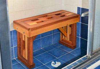 Lighthouse Shower Benches