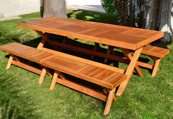 Rectangular Folding Picnic Tables