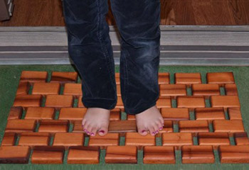 Flexible Wood Floor Mats