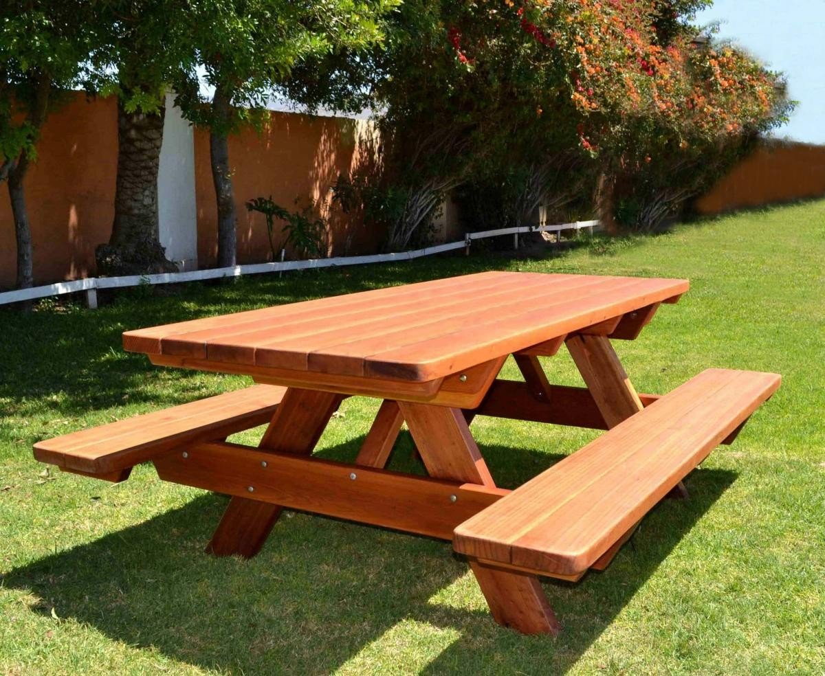 Woodwork How To Build A 6 Foot Picnic Table PDF Plans