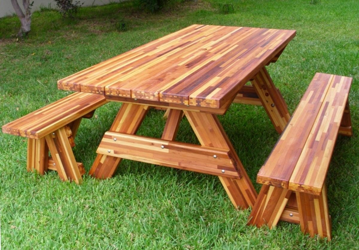Forever Wood Picnic Tables, Built to Last Decades ...