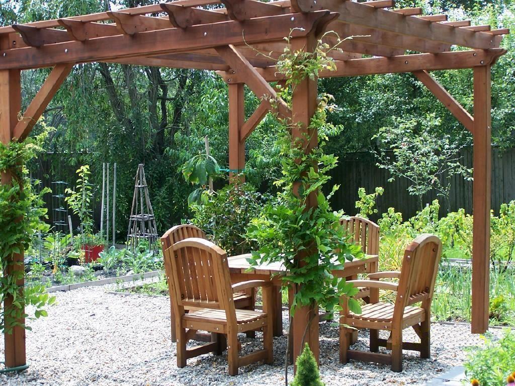 Woodwork garden pergolas pdf plans for Plans for arbors