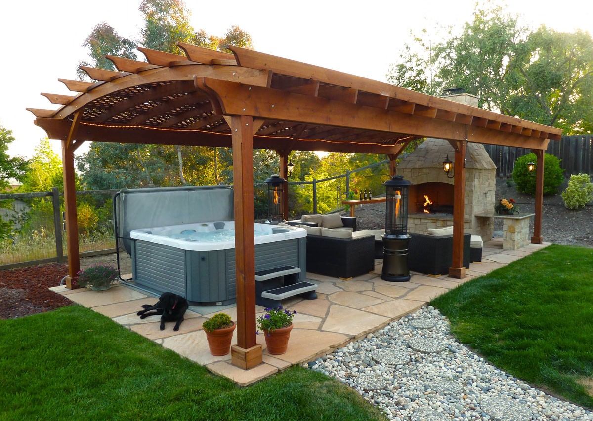 Backyard Pergola Plans : Custom Pergola Kits, Built to Last Decades  Forever Redwood